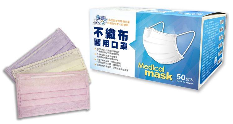 屈臣氏將於7月27日起開賣4,000盒清新宣言不織布醫用口罩,共有粉紅、粉紫、粉...