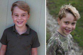 喬治王子7歲生日 竟然像「他」多過爸爸威廉!