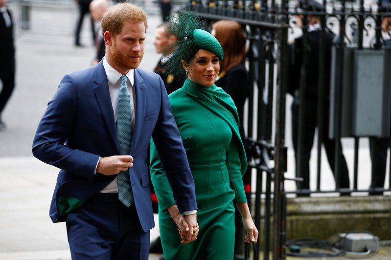 哈利與梅根脫離英國皇室重要成員身分,背後有一番用意。路透社