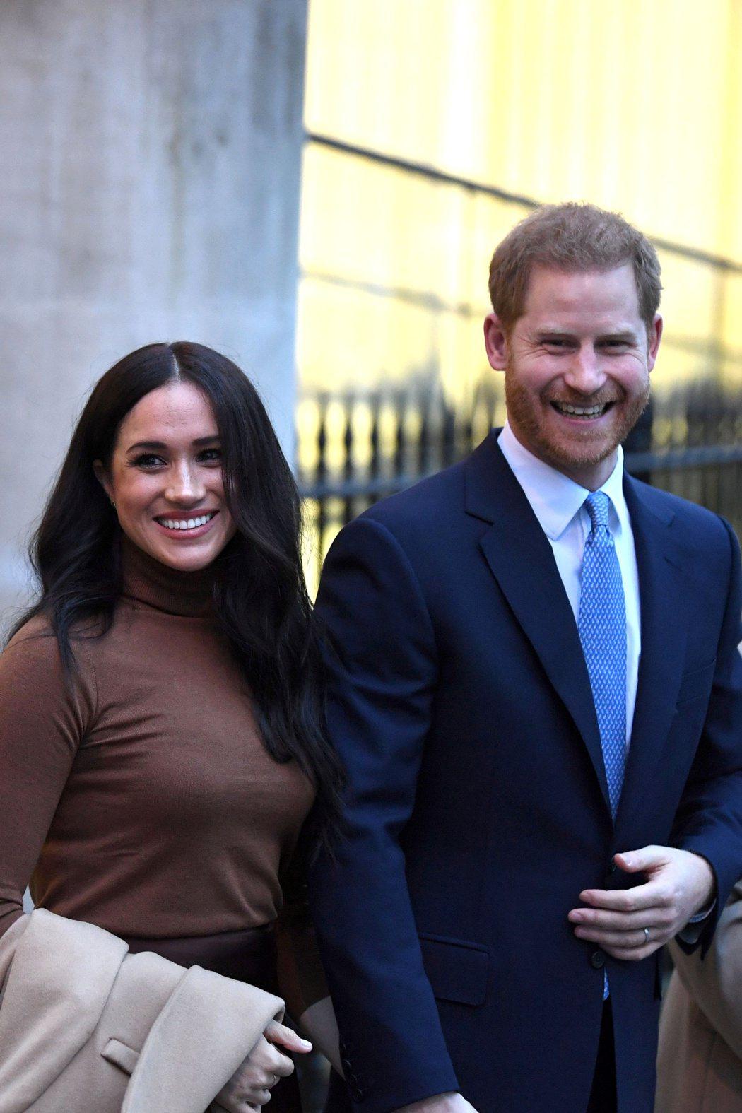 梅根和哈利現在更能做自己,較少受到英國皇室的束縛。圖/路透資料照片