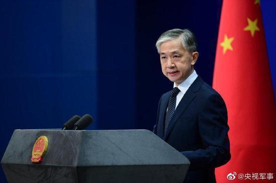 大陸外交部發言人汪文斌表示,美國無端指責別國進行網路攻擊,是做賊喊抓賊。(圖/取自央視新聞)