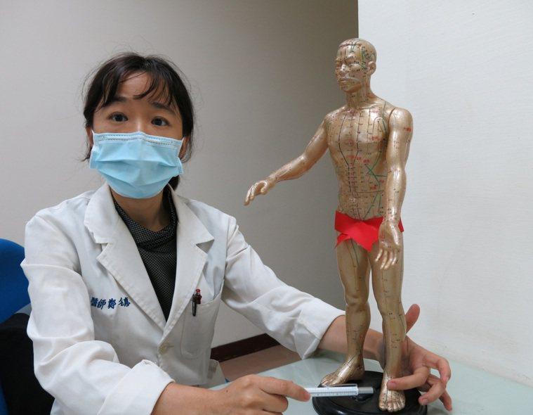 衛福部豐原醫院中醫科醫師鄭名惠表示,女性體質調理好,就容易受孕。記者游振昇/攝影