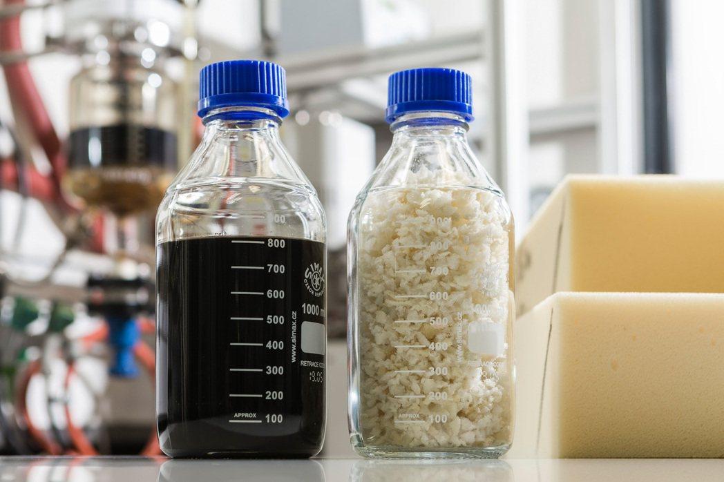 巴斯夫針對舊床墊的創新回收工藝可分解軟性聚氨酯泡綿並提取出最初使用的多元醇。