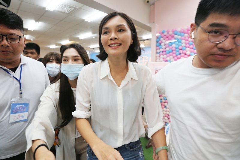 國民黨高雄市長候選人李眉蓁陷入論文抄襲風暴。 圖/聯合報系資料照