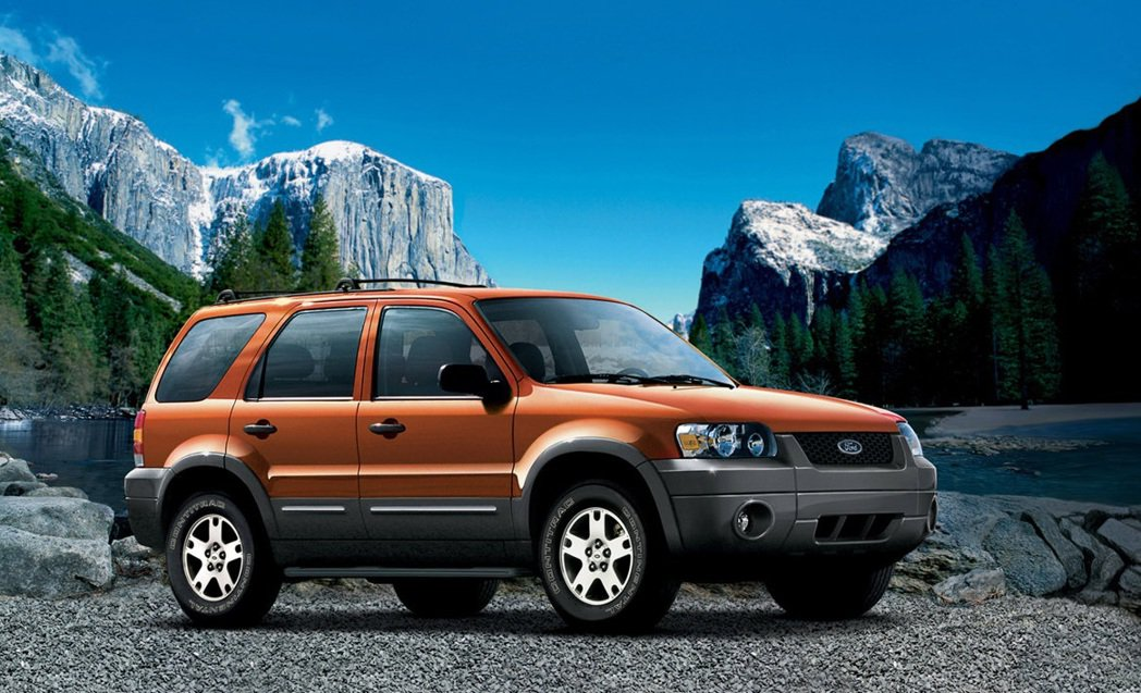 2006 Ford Escape。 摘自Ford