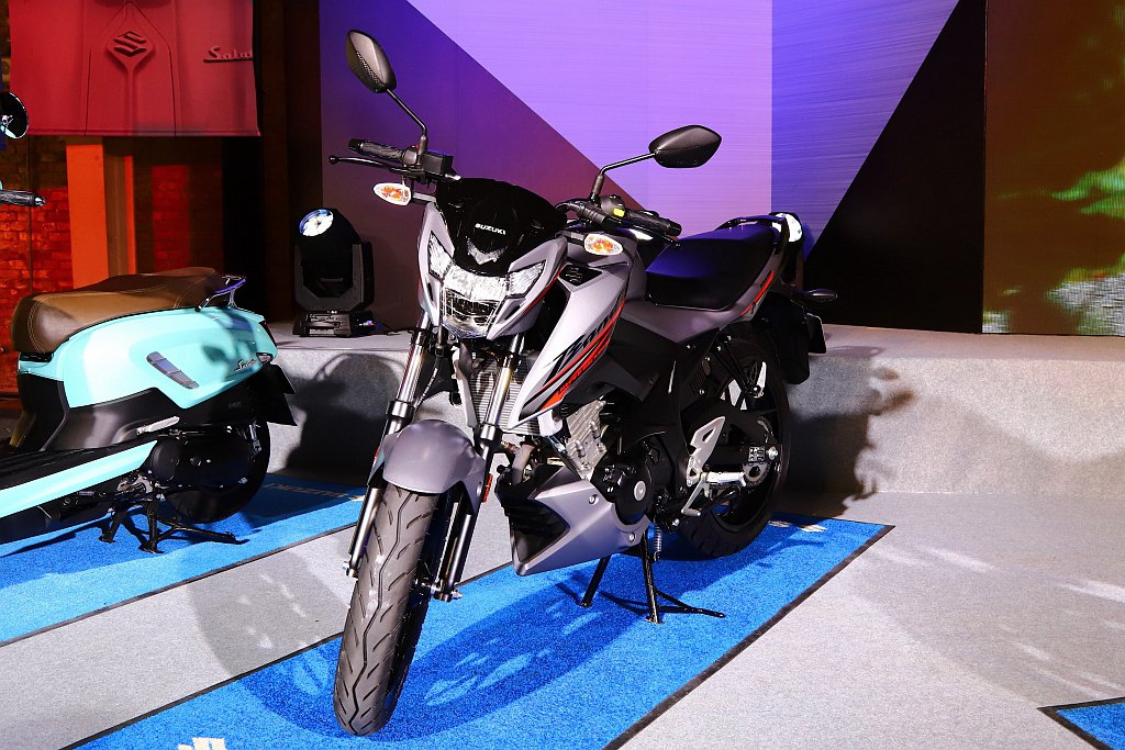 Suzuki GSX-150 Bandit除承襲GSX車系的狂野性能,更提供BA...
