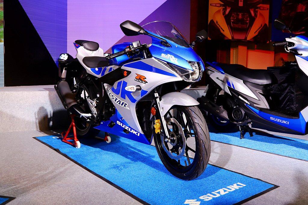 Suzuki GSX-R150推出100週年限定藍銀仕樣,亮眼全新四色同步登場。...