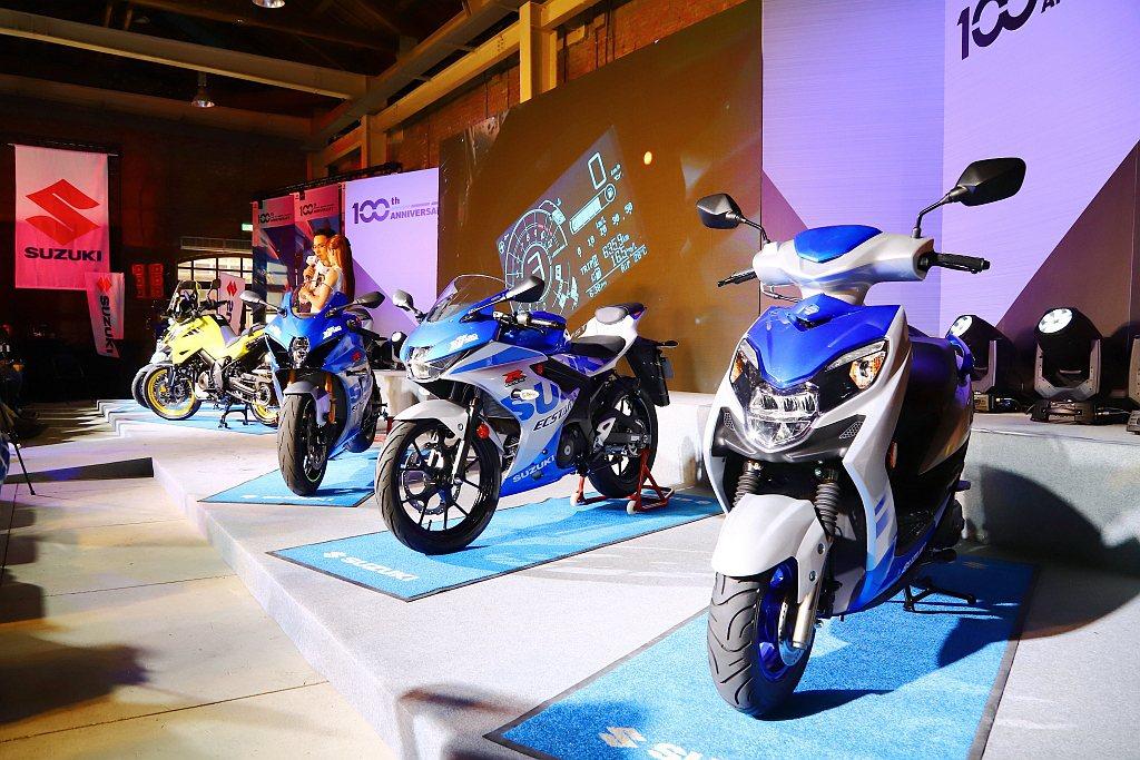 Suzuki超值購車優惠同步實施中,包括購買Suzuki重車全車系以及Suzuk...