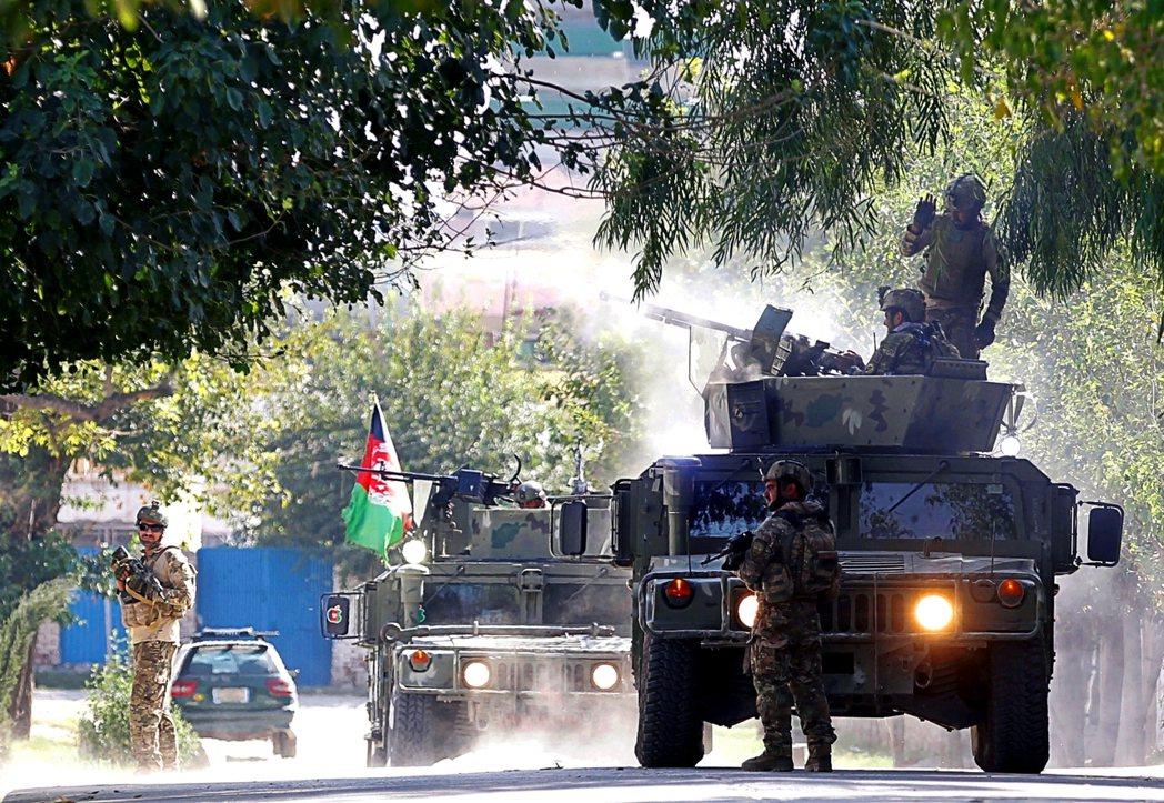 圖為阿富汗部隊。 圖/路透社