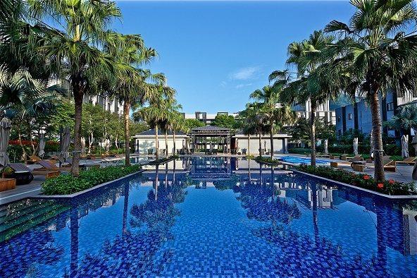 秧悅美地度假酒店內有著精油芳療池及泳池,景觀媲美國外。 花蓮秧悅美地度假酒店/提...
