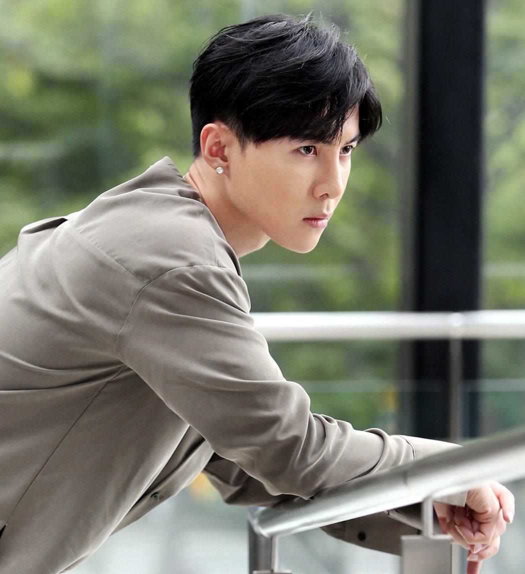 唐禹哲睽違六年再度演出偶像劇「我的青春沒在怕」。記者侯永全/攝影