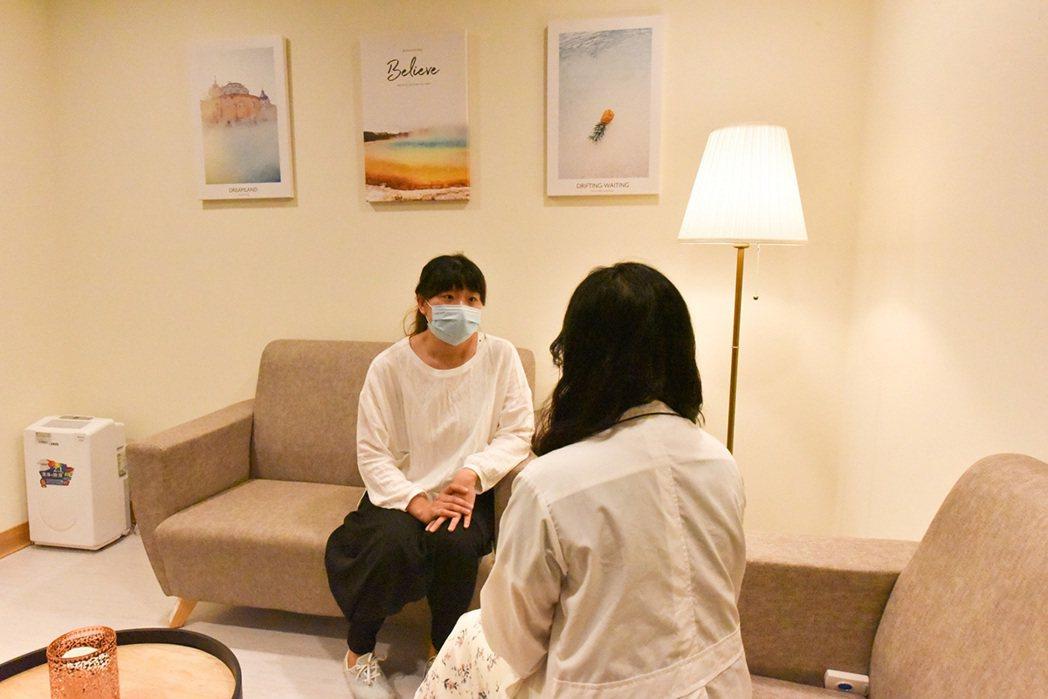 癌症病友諮商醫師。 圖/秀傳醫院 提供
