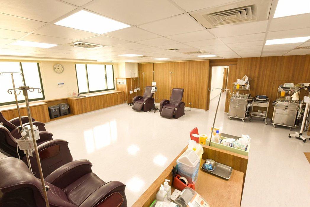 癌醫中心化療室。 圖/秀傳醫院 提供