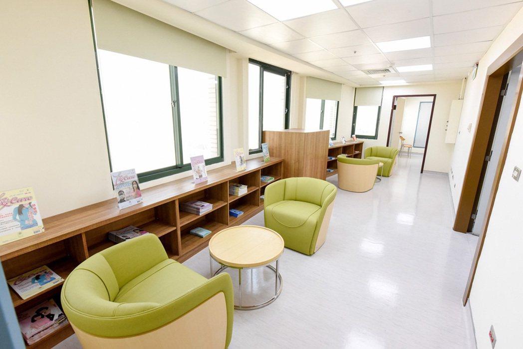 陽光書屋。 圖/秀傳醫院 提供