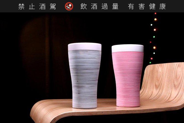 陶作坊新作「沁涼啤酒杯」。圖/陶作坊提供