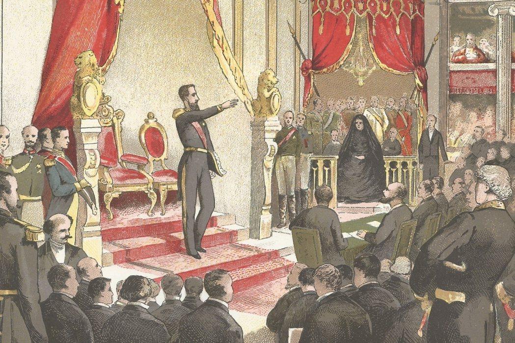 利奧波德二世是在1865年即位,自認比利時「小國寡民」的他一直窺伺著,要如何取得...