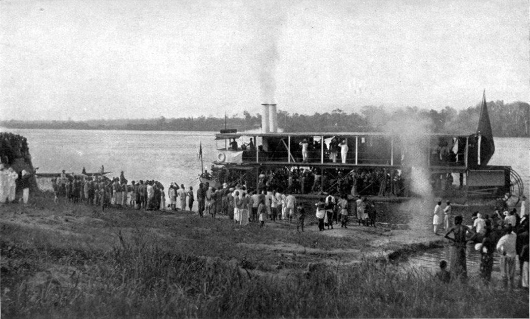 「掌握了剛果河就掌握了剛果河盆地,掌握了剛果河盆地,就掌握了中西非的經濟大動脈。...