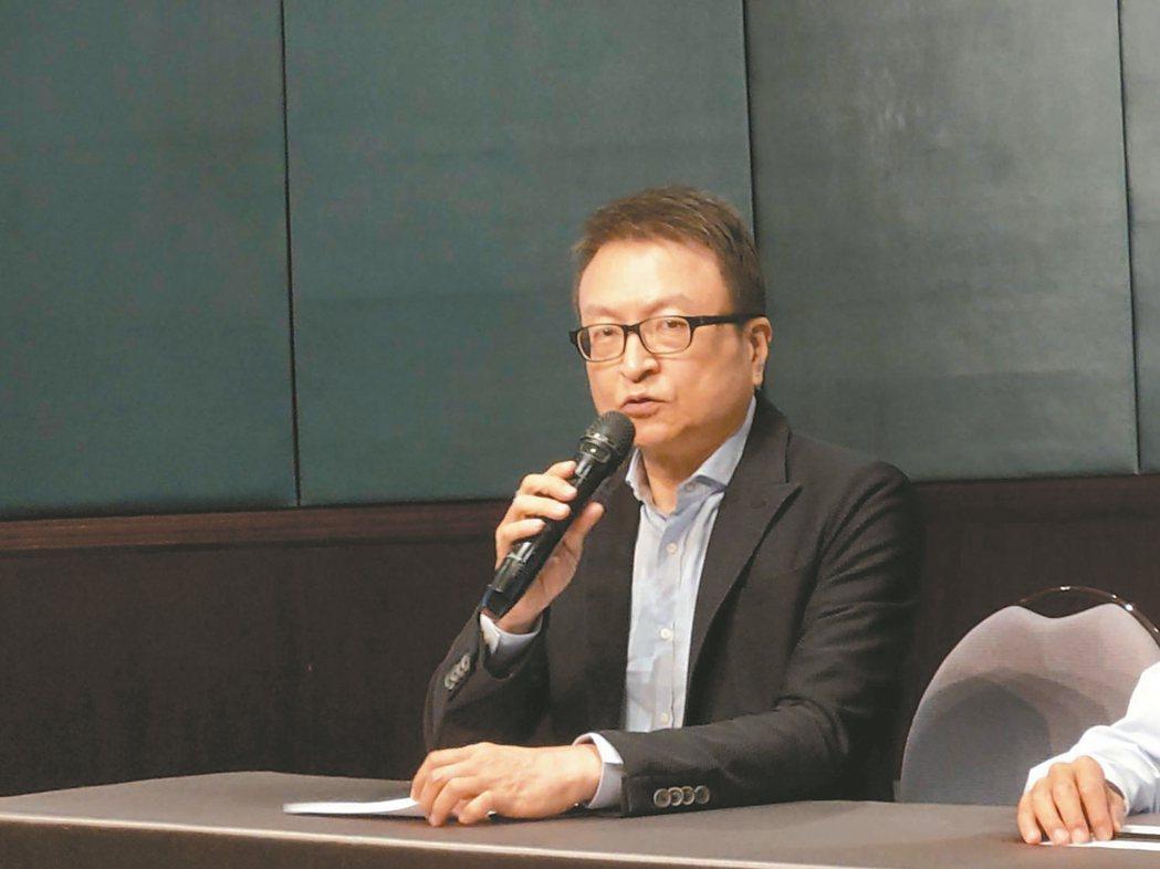 M31董事長暨總經理林孝平。 記者鐘惠玲/攝影