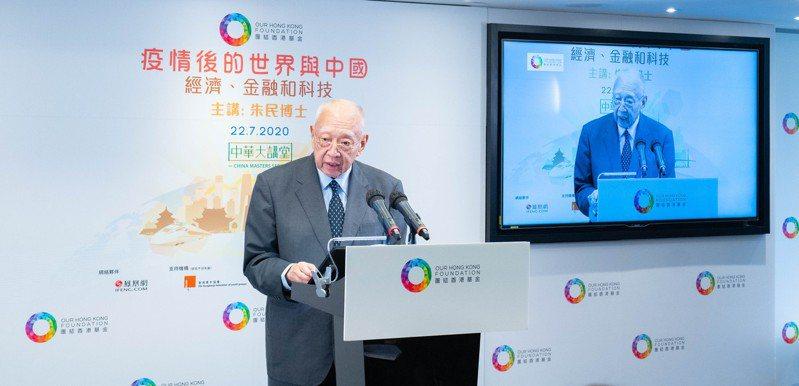 全國政協副主席、團結香港基金主席董建華。 香港中國通訊社