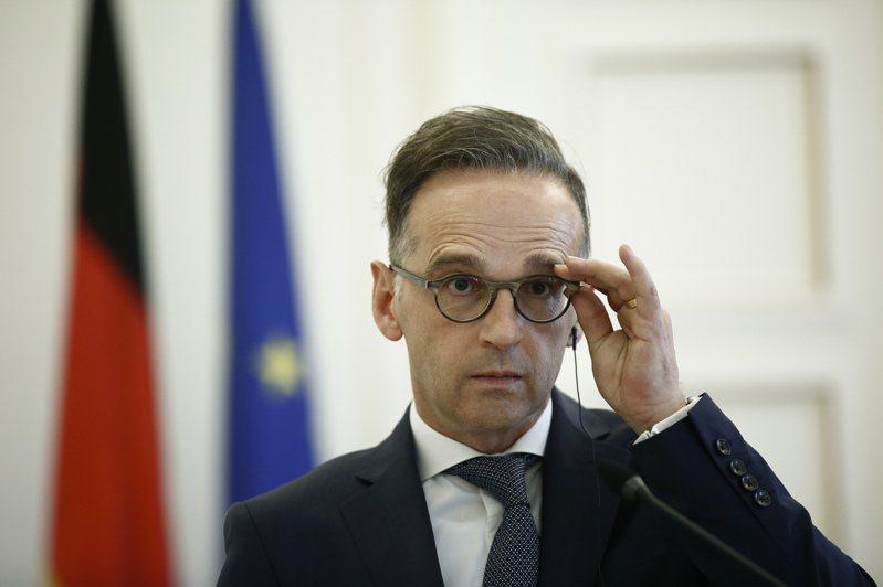 德國外交部長馬斯(Heiko Maas)。 歐新社