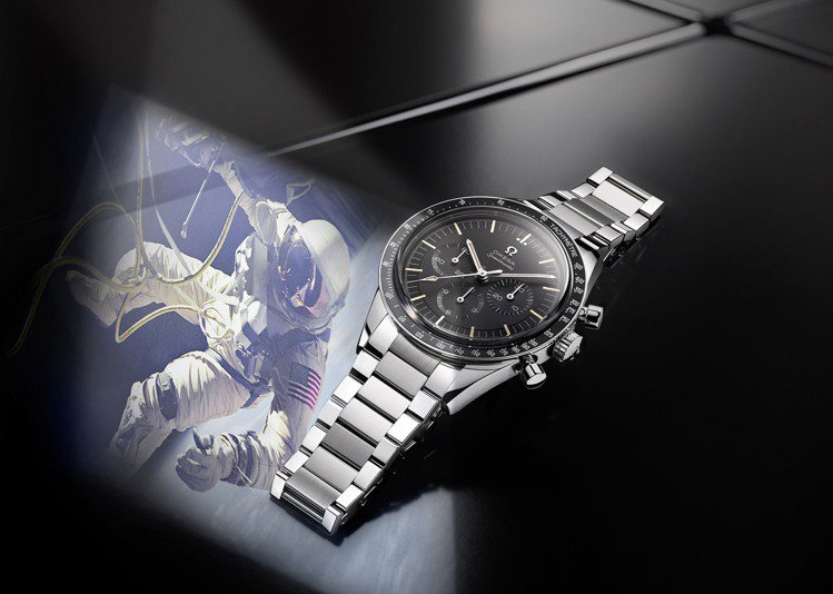 非限量的OMEGA超霸登月321機芯不鏽鋼腕表,見證了一段50年前的不朽傳奇。圖...