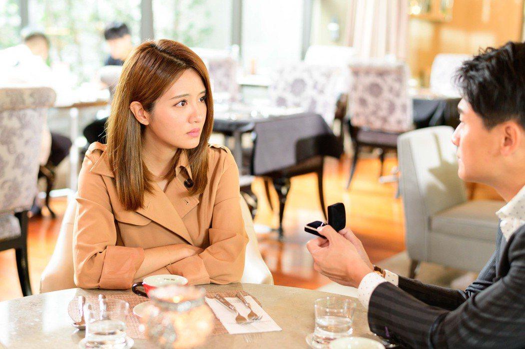 李宣榕在「女力報到」第5季「正好愛上你」中感情生活甜蜜蜜。圖/TVBS提供