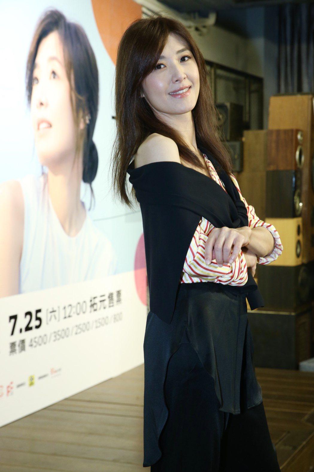 蘇慧倫外貌保養得宜。記者林俊良╱攝影