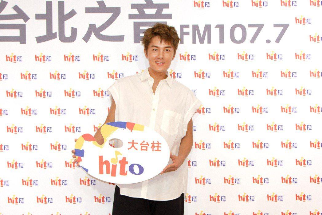 吳克群擔任8月hito大台柱。圖/Hit Fm聯播網提供