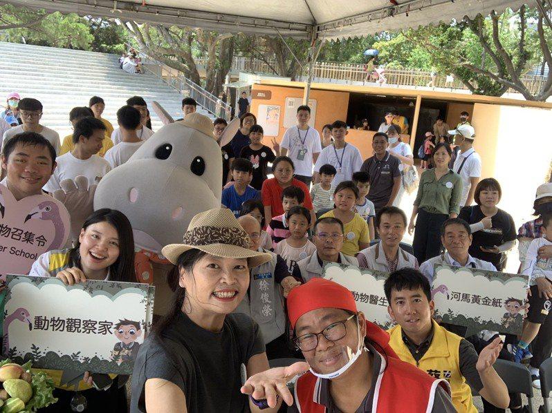 新竹市立動物園8月推出動物召集令夏令營,為期1個月、18梯次課程,明天開放網路報名。圖/新竹市政府提供