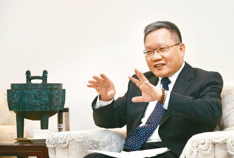 財政部長蘇建榮。記者黃義書/攝影