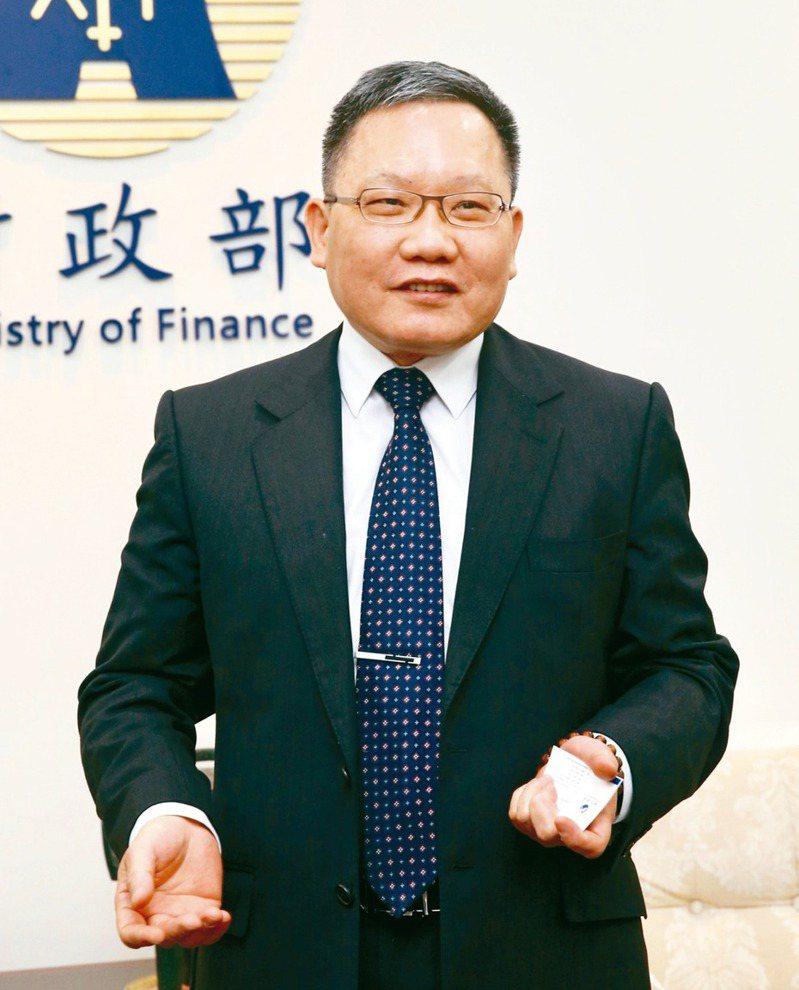 財政部長蘇建榮 記者黃義書/攝影