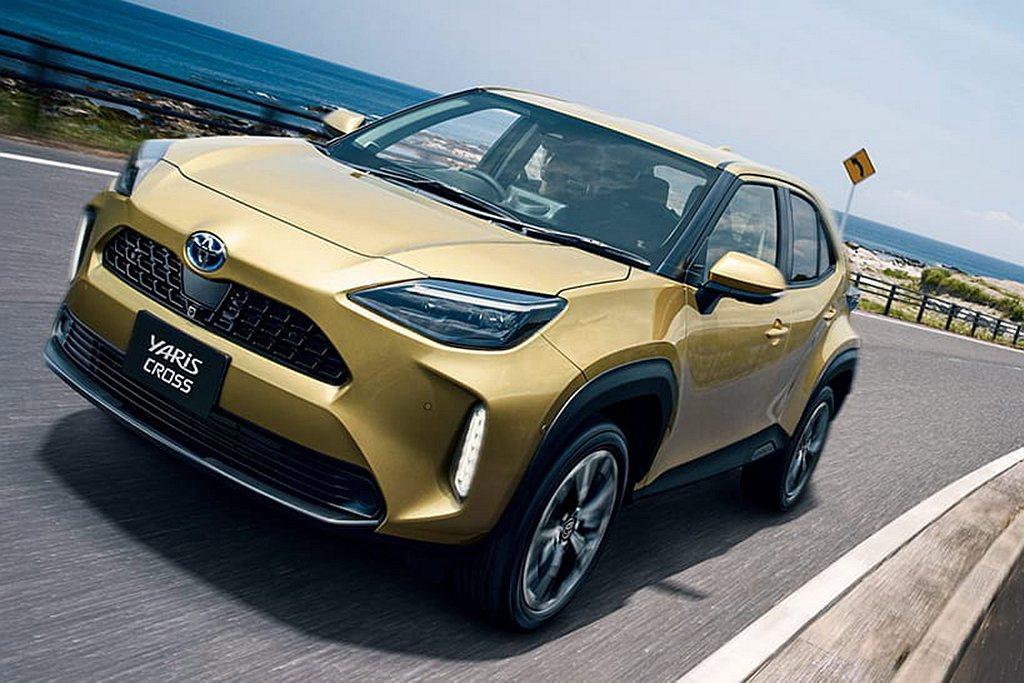 日本Toyota汽車即將開放Yaris Cross預售作業。 圖/Toyota提...