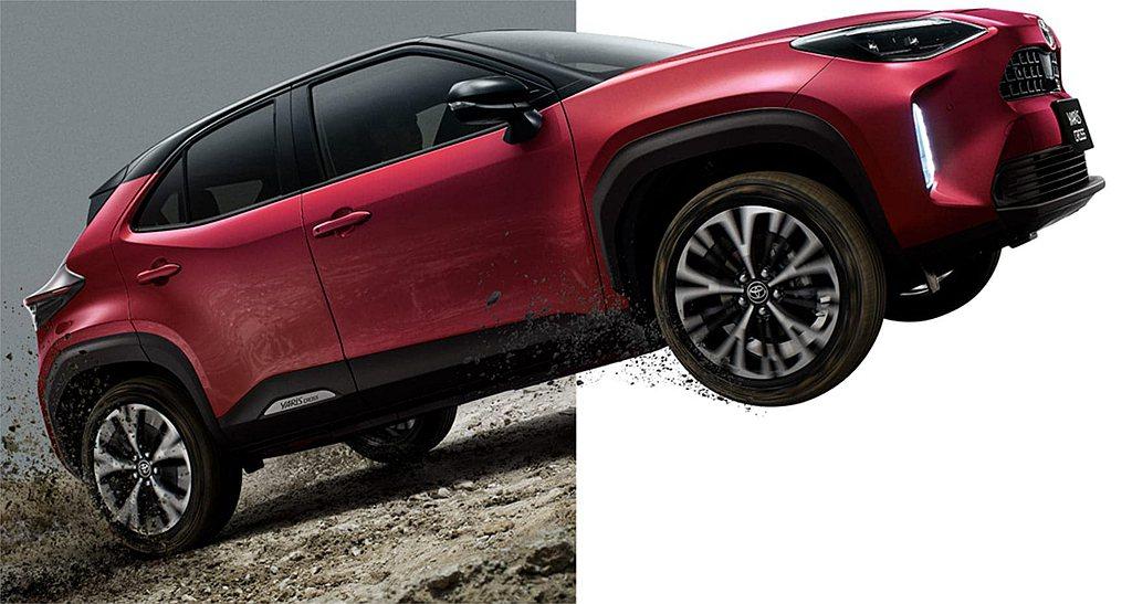 Toyota Yaris Cross燃油動力具備120ps最大馬力、14.8kg...