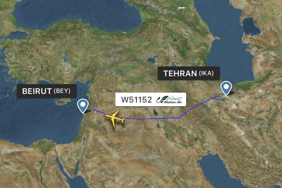 這次遭遇空中事件的馬漢航空飛機,是7月23日由伊朗首都德黑蘭起飛,欲於同日抵達黎...