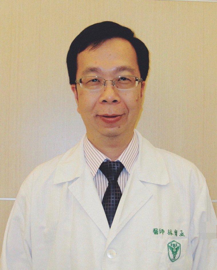 台南安安婦幼醫院副院長林育丞醫師說,「定期施打疫苗,可幫助寶寶保護自己。」 圖/...