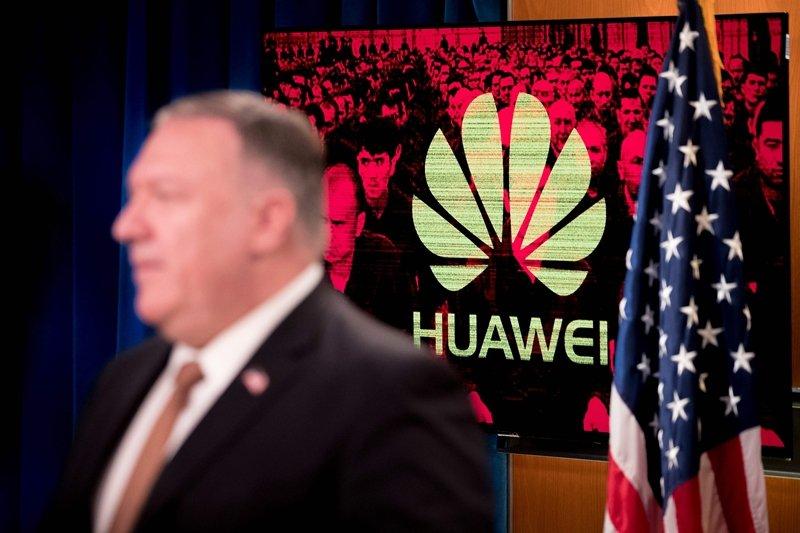 美國政府已經認定電信設備商華為,直屬於中國軍方或者深受掌控。 圖/法新社