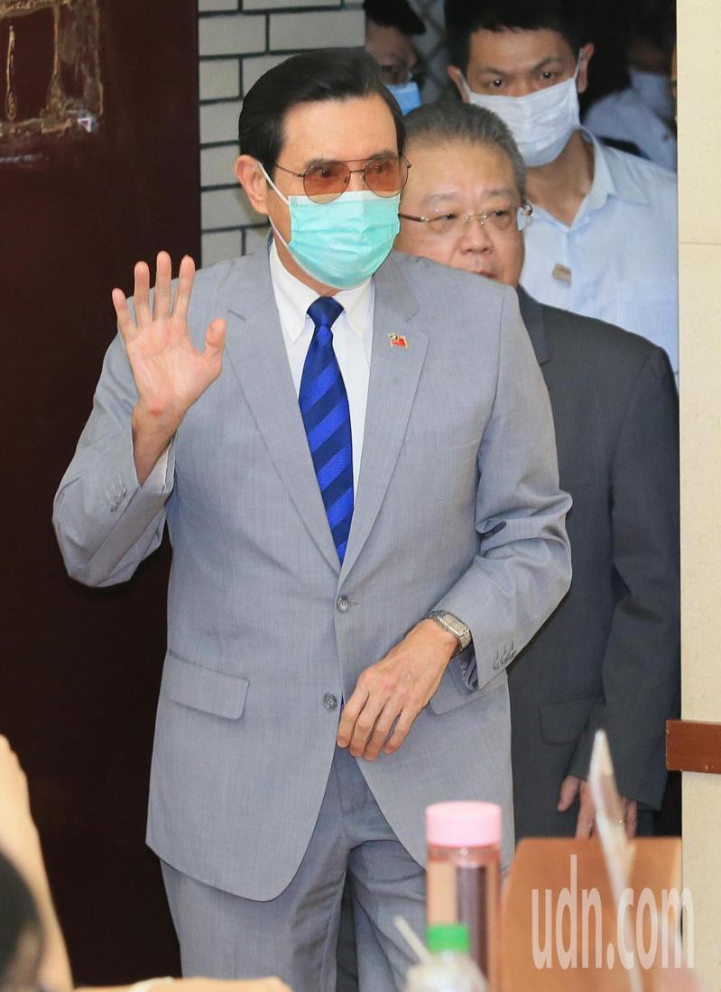 前總統馬英九。記者潘俊宏/攝影