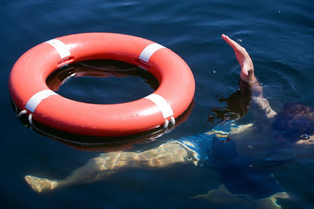 溺水示意圖。圖/ingimage