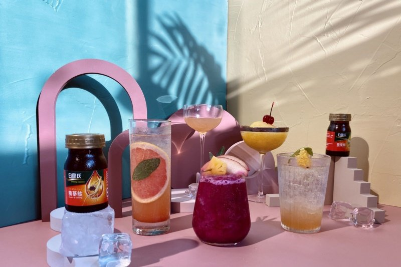 炎熱盛夏不妨利用保健飲品DIY健康清涼飲品及冰品。 圖/白蘭氏提供