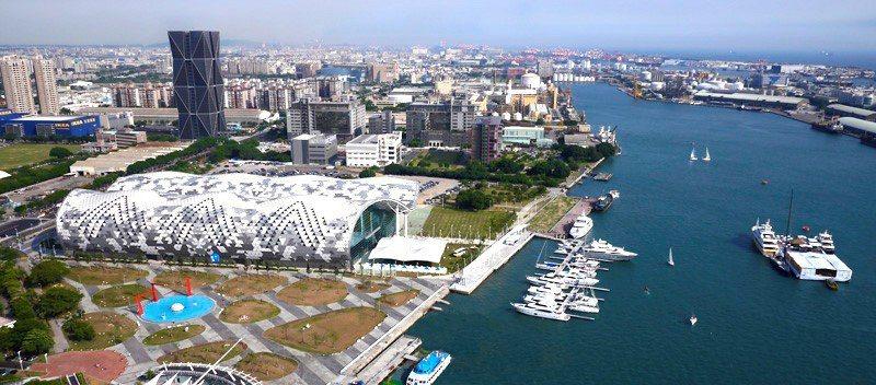 亞洲新灣區科技發展重鎮 照片:翻拍自高雄市政府網站