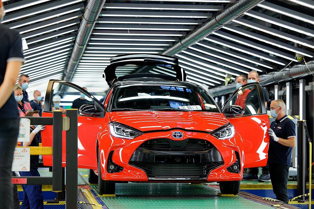 新世代歐規Toyota Yaris量產啟動。 圖/Toyota提供