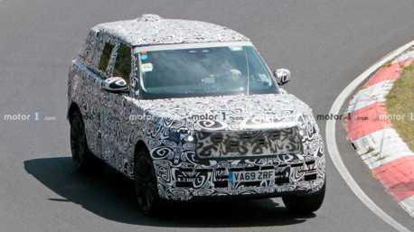 下一代Range Rover紐柏林賽道測試中 將擁有全新V8動力
