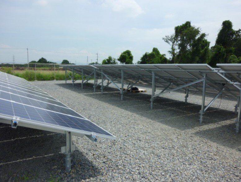 日本太陽能支架必指定使用ROVAL冷鍍鋅防鏽塗料。