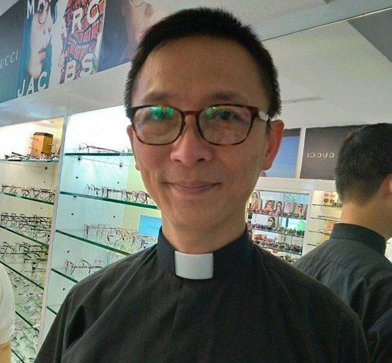 台北市榮星教會符明勝牧師。 台灣長照醫學會/提供