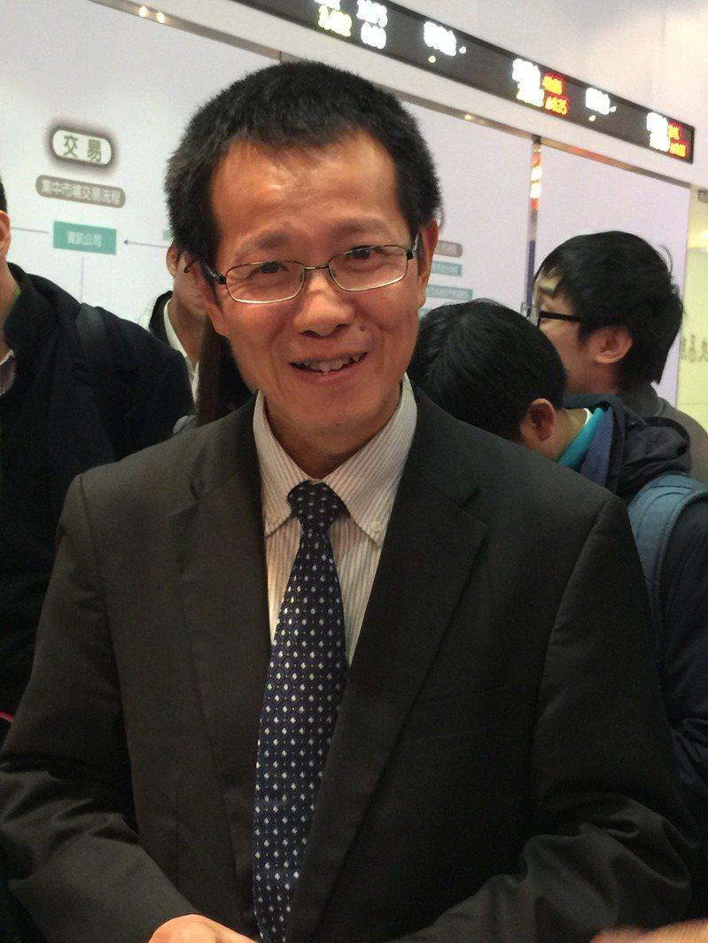 矽力董事長陳偉。記者謝佳雯/攝影