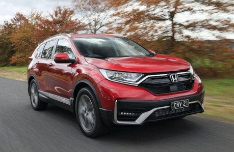 澳規2021 Honda CR-V改款上市!安全配備再升級