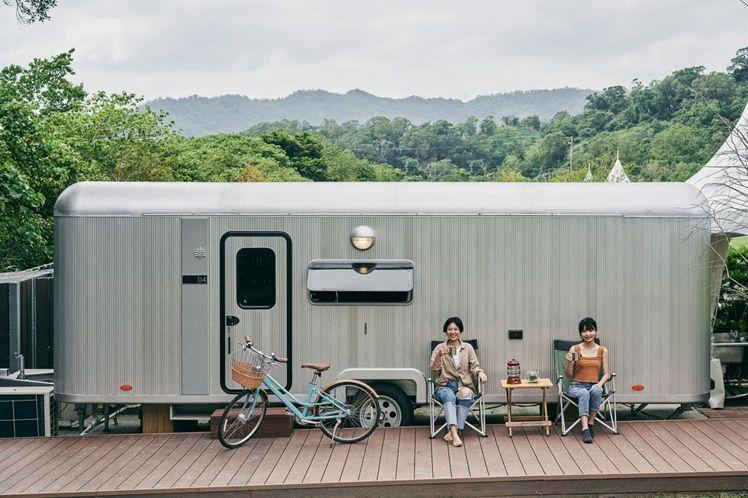 礁溪老爺得天露營車。圖/哈潑時尚提供