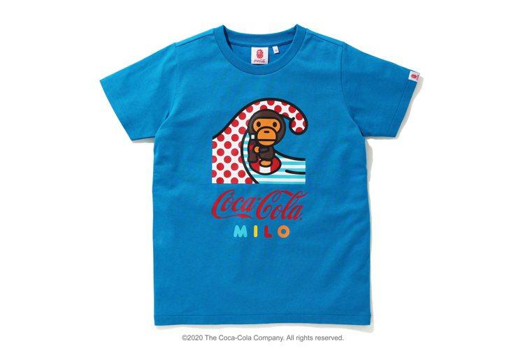 可口可樂MILO SURFING T恤3,199元。圖/i.t提供