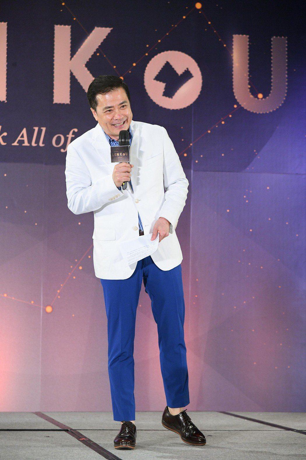三立影城集團董事長張榮華今天參與「新北影視盛典」。圖/三立提供