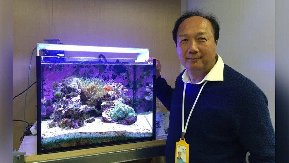LED封裝廠東貝光電科技公司董事長吳慶輝。 報系資料照